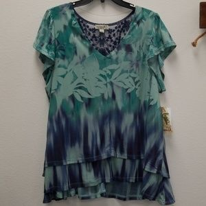 One World NWT 1X top